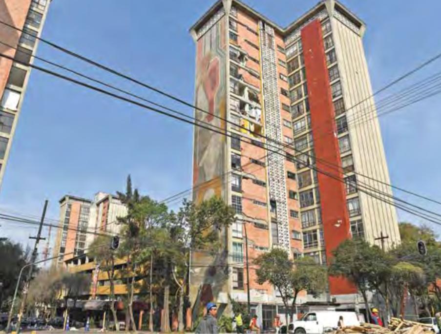 Edificio de Osa Mayor. Foto Leslie Pérez.