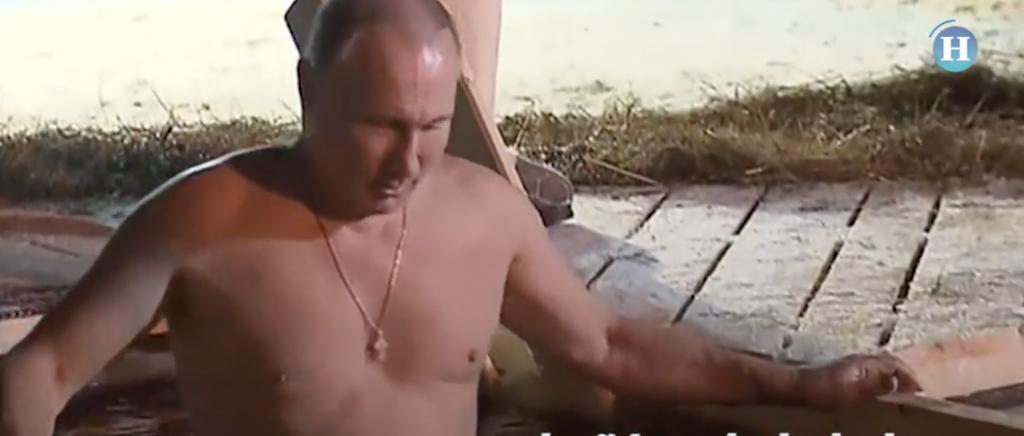 Putin se sumerge en aguas glaciales