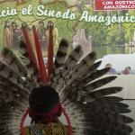 Reunión de indígenas del amazonas con el papa Francisco