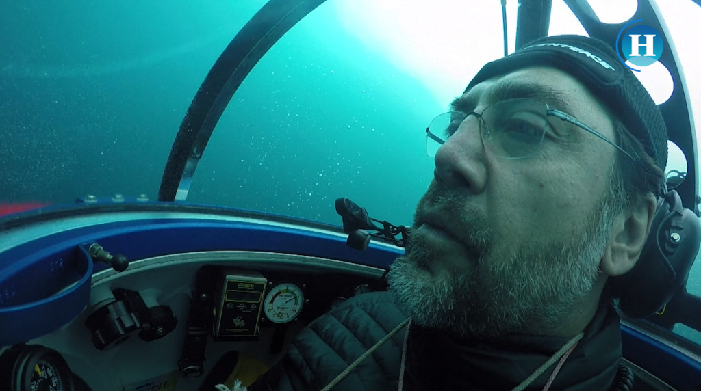 Expedición en la Antártida con el actor Javier Bardem