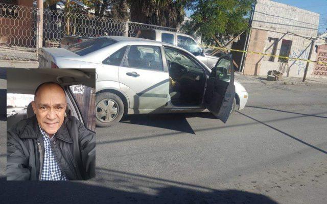 Carlos Domínguez Rodríguez fue muerto a tiros en Nuevo Laredo cuando circulaba en su coche, acompañado por su hija