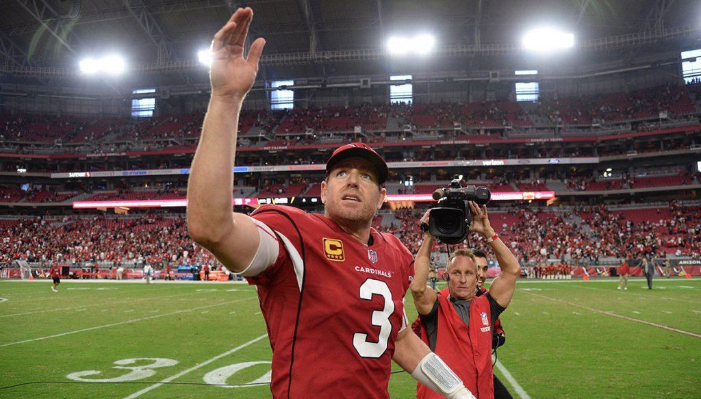 El quarterback de los Cardenales de Arizona, Carson Palmer, anunció su retiro de los emparrillados tras 15 temporadas en la NFL