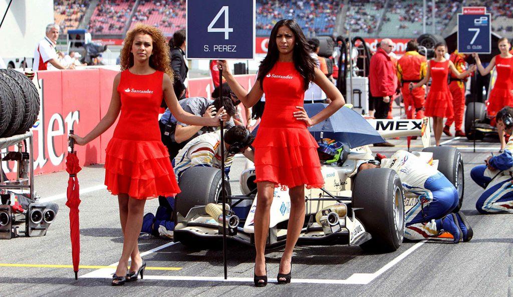 """La Fórmula Uno, la máxima categoría del automovilismo mundial, anunció que ya no habrá animadoras en la parrilla de salida porque """"no es apropiado ni relevante"""""""