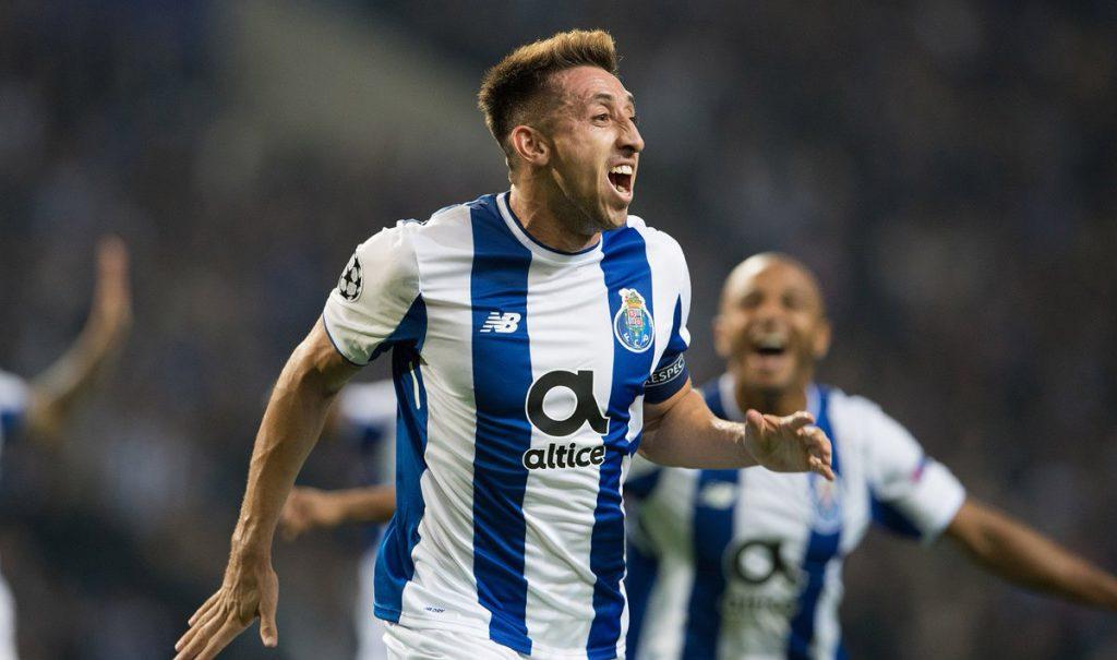 El capitán del Porto, Héctor Herrera fue suspendido dos partidos tras ser expulsado en el duelo contra el Paços de Ferreira, dentro de la Copa de la Liga de Portugal