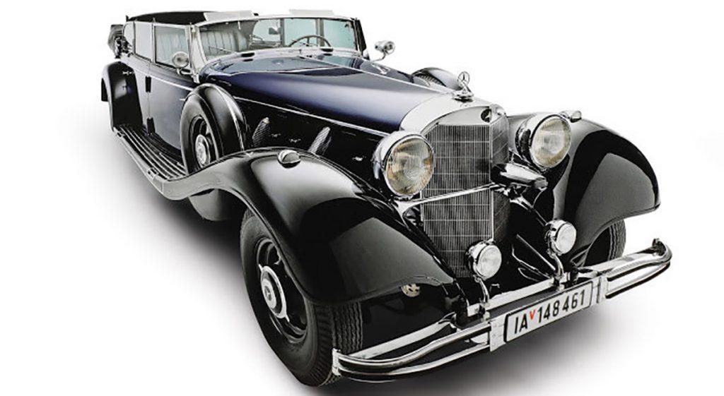 """El """"super-Mercedes"""" de Adolfo Hitler será puesto a la venta el próximo 17 de enero en una subasta de automóviles clásicos en Arizona"""