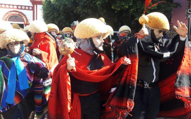 Los Parachicos salen a las calles de Chiapa de Corzo