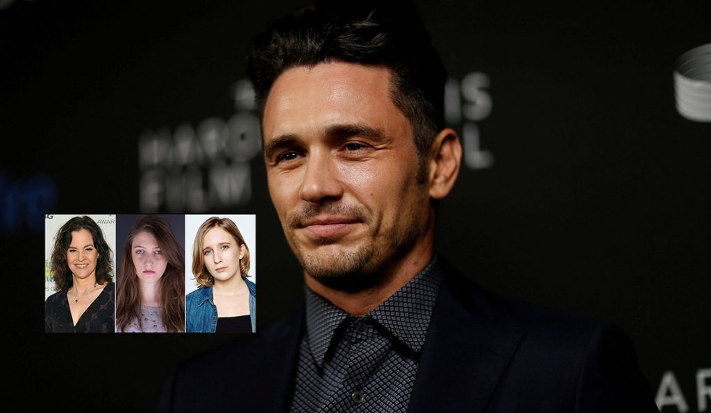 Cinco mujeres acusaron al ganador del Globo de Oro, James Franco de explotación sexual y comportamiento sexual indebido