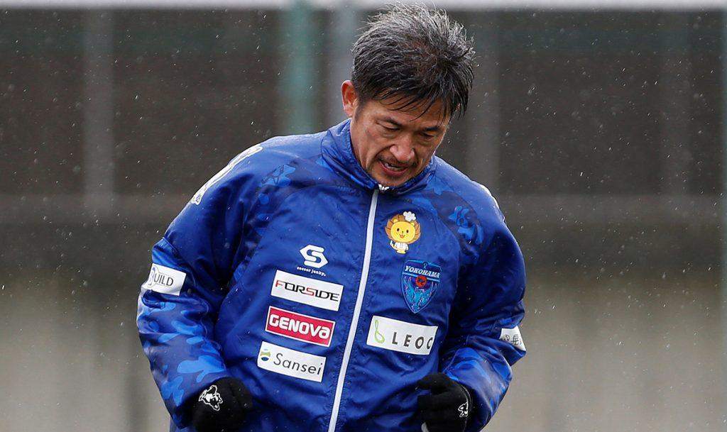 Kazuyoshi Miura, ex internacional japonés, jugará su temporada número 33 como profesional con el Yokohama FC de la segunda división nipona