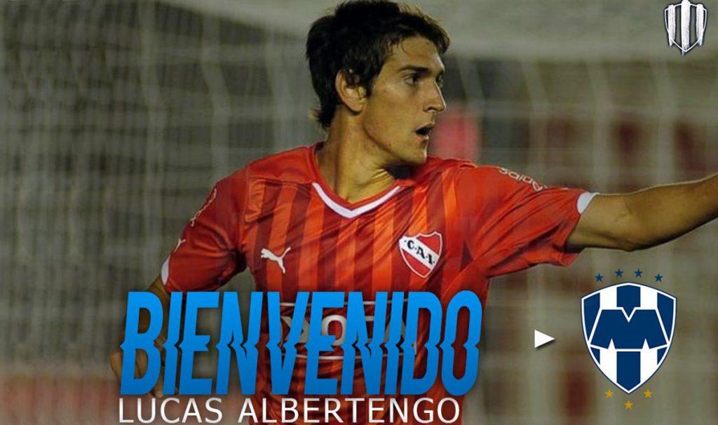 El delantero argentino Lucas Albertango llega a préstamo a Monterrey, procedente del Independiente argentino; para el presente Clausura