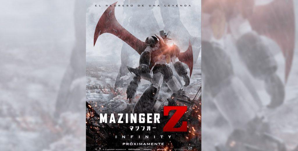 La película con la que se conmemoran 50 años de la creación del legendario robot Mazinger Z presentó la versión latina de su poster y trailer oficial