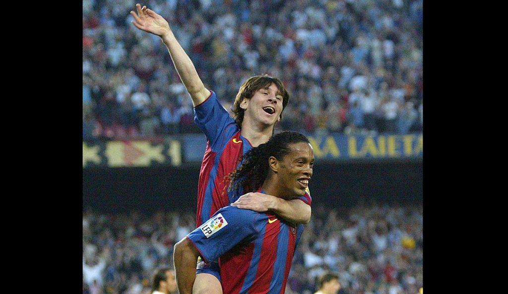 Tras el anuncio del retiro de Ronaldinho, Lionel Messi recuerda con cariño el tiempo que compartió con el brasileño el vestuario del Barcelona