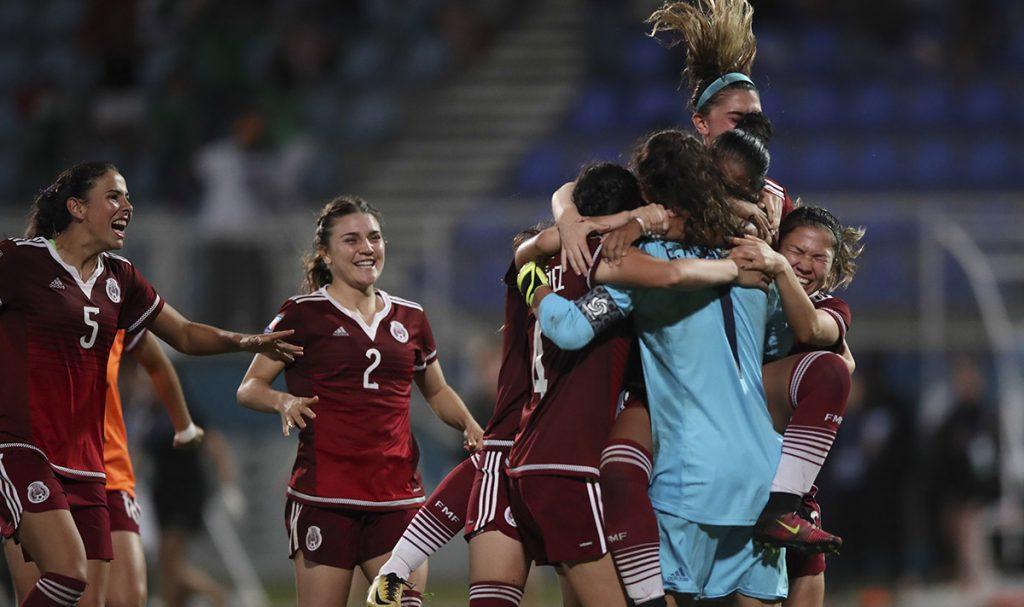 La Selección Mexicana Femenil Sub 20 venció 4-3 a Canadá en penales (1-1 en tiempo regular) y se clasificó al Mundial de la especialidad Francia 2018