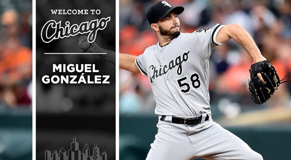 El pitcher jalisciense Miguel González firmo por un año y 4.75 millones de dólares con los Medias Blancas de Chicago, equipo que lo había enviado a Texas
