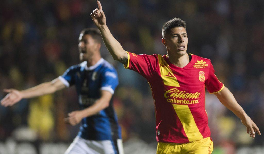 Con solitario gol de Gastón Lezcano, Monarcas Morelia venció 1-0 a los Gallos Blancos del Querétaro, en el arranque de la Jornada 4 del Clausura