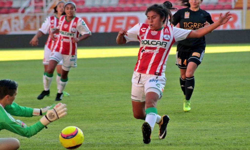 Tigres Femenil venció 2-0 a Necaxa en el estadio Victoria, en el partido con el que arrancó el Clausura 2018 de la Liga MX Femenil