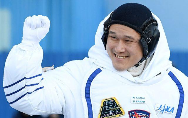 El astronauta japonés Norishige Kanai asegura que creció 9 centímetros durante las 3 semanas en las que estuvo en la  Estación Espacial Internacional