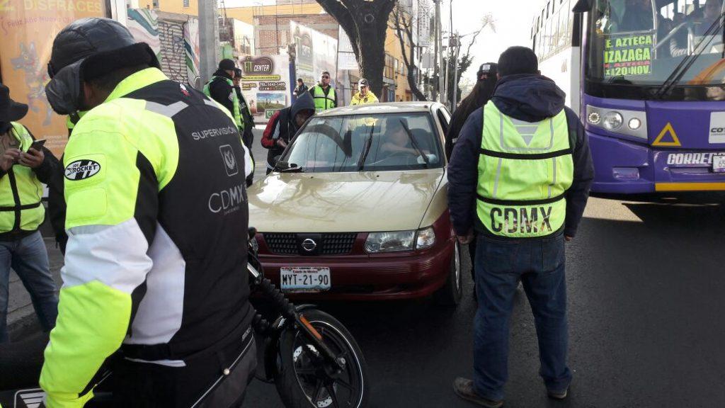 Sancionan a 82 conductores de transporte público en la CDMX