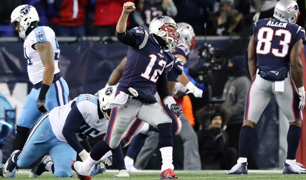 Con gran actuación de Tom Brady, los Patriotas de Nueva Inglaterra vencieron 35-14 a los Titanes de Tennesse para clasificarse a la final de la Conferencia Americana