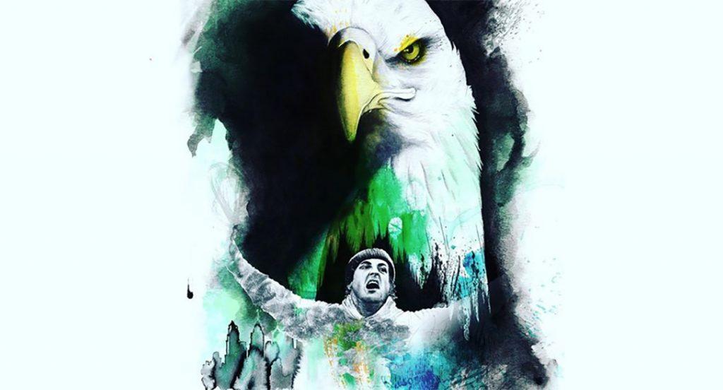 Rocky Balboa, oriundo de Philadelphia, apoya a las Águilas en el SuperBowl LII contra Patriotas. Silvester Stallone se encarga de difundir el apoyo del boxeador