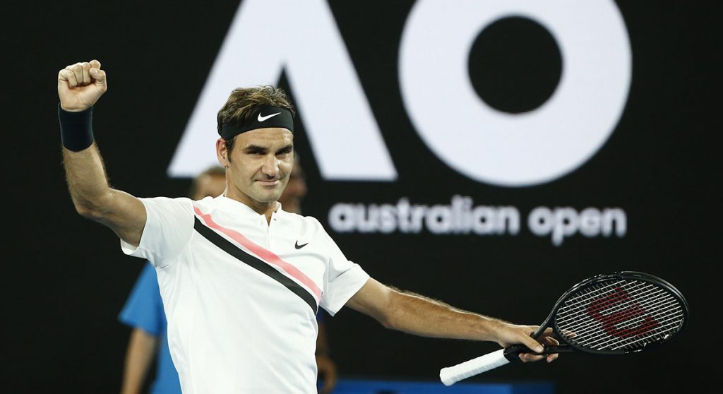 El tenista suizo Roger Federer venció en tres sets al alemán Jan-Lennard Struff y avanzó a la tercera ronda del Abierto de Australia