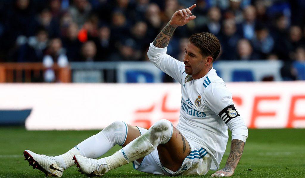 El capitán del Real Madrid, Sergio Ramos, sufre una lesión muscular en el sóleo izquierdo, por lo que estará fuera de actividad por dos semanas