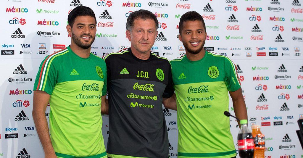 Carlos Vela y los hermanos Giovani y Jonathan Dos Santos fueron convocados para el primer partido de preparación de México contra Bosnia