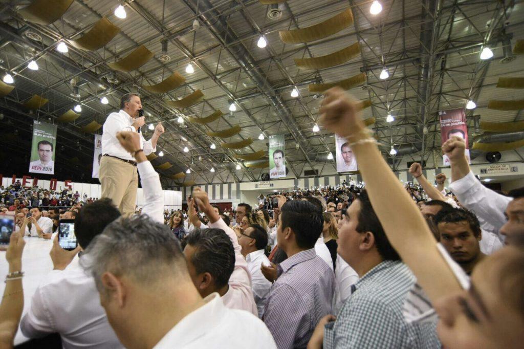 Duele traición de Javier Duarte por corrupción, dice Meade