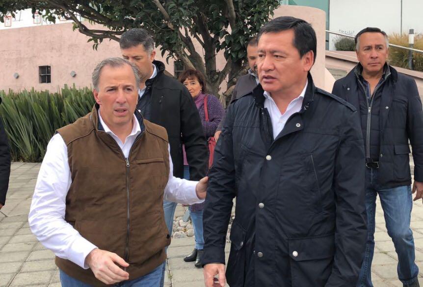 Se reúnen Osorio Chong y Meade en Hidalgo