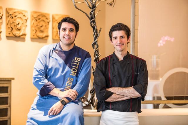 Víctor Sierra y Miguel Arregui. Fotos Bernardo Coronel.