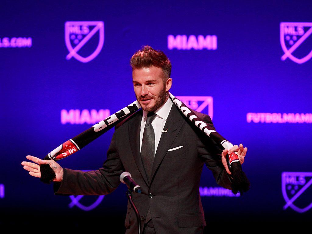 David Bekham MLS