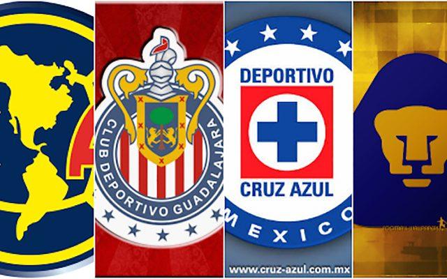 61fe80bace4 Los 4 grandes del futbol mexicano buscan recuperar protagonismo