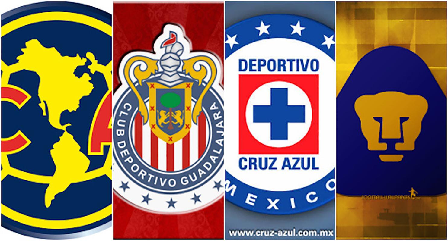 Resultado de imagen para 4 grandes futbol mexicano