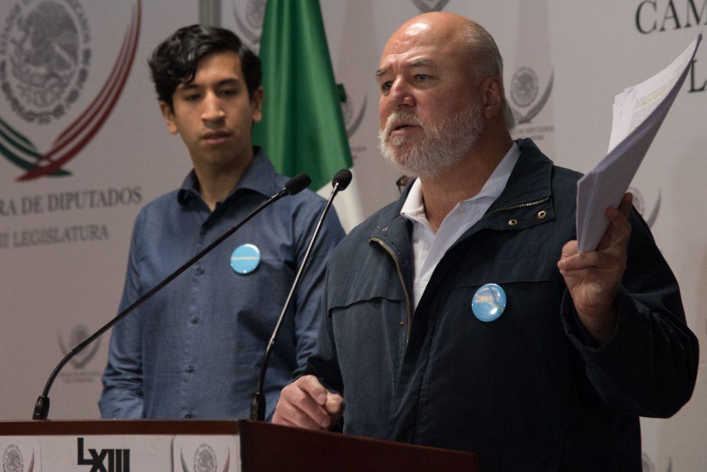 Manuel Clouthier y Pedro Kumamoto. Archivo. CUARTOSCURO.