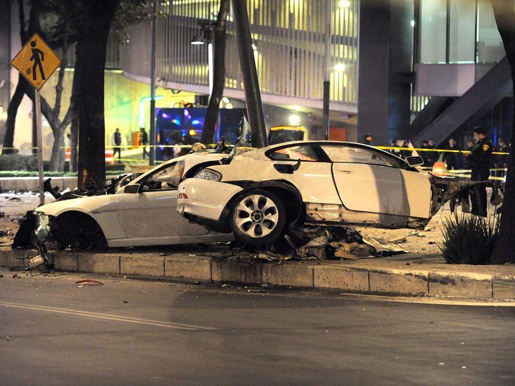 Piden pena máxima para el conductor del BMW que chocó en Reforma