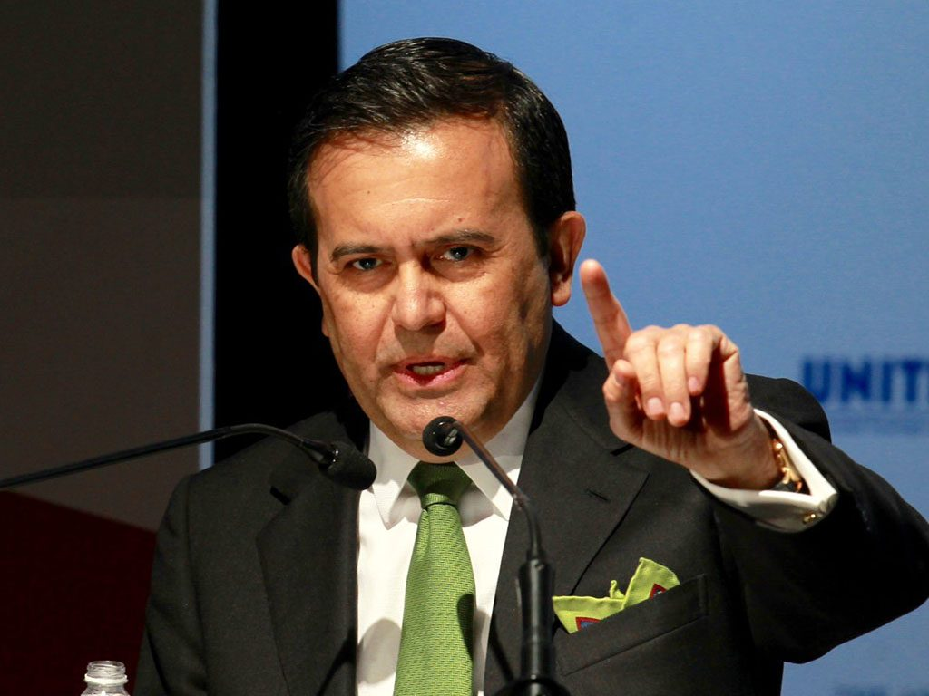 Negociaciones del TLCAN pueden posponerse: Guajardo