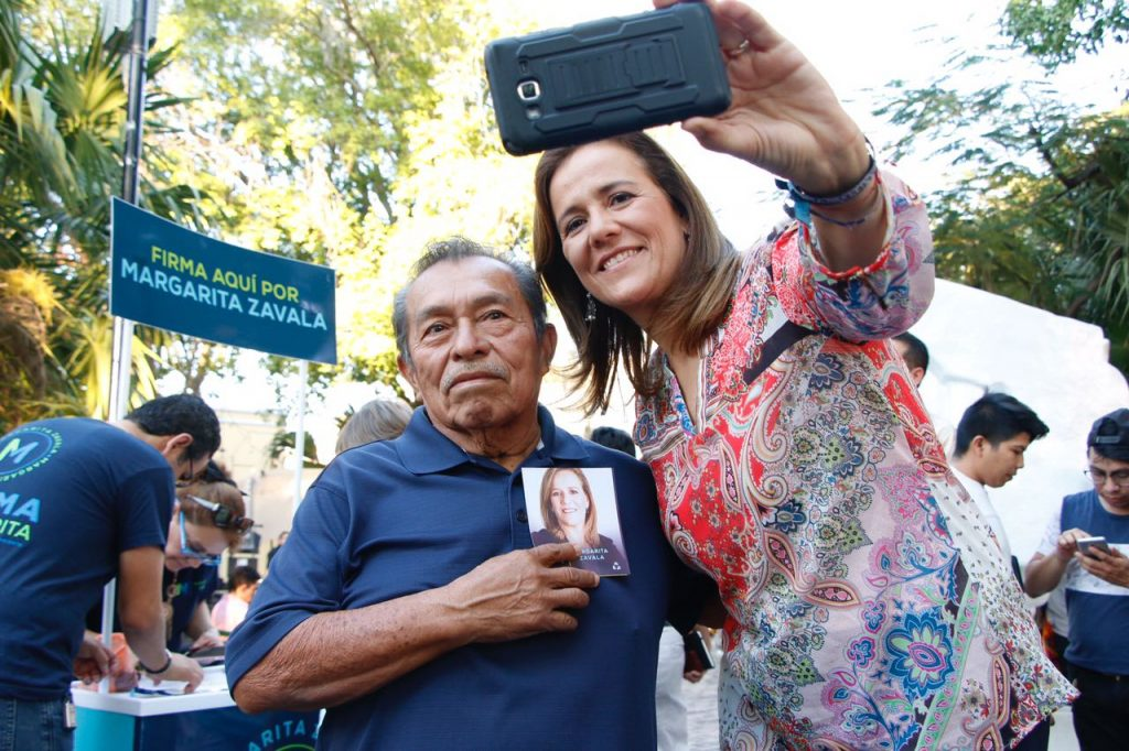 Margarita Zavala confía en ganarle a Andrés Manuel López Obrador