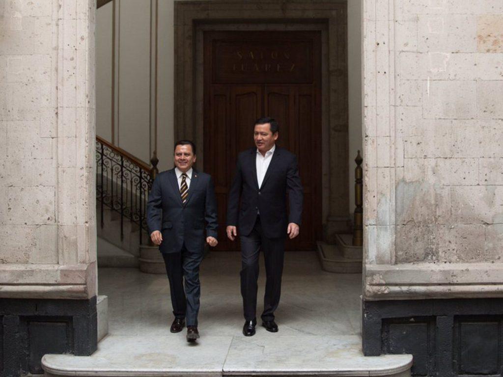 PRD y Segob trabajan por la seguridad de candidatos y funcionarios
