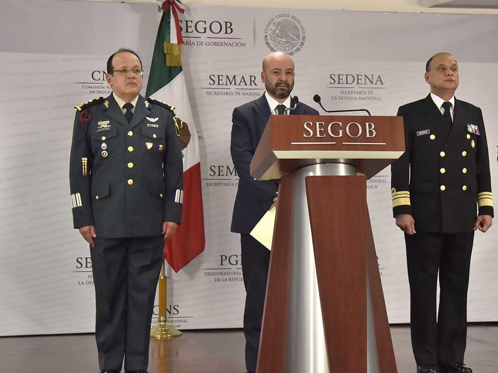 """""""El Cochi"""" fue detenido en Monterrey, aclara Renato Sales"""