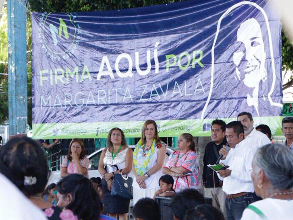 Margarita Zavala presume 92% de firmas requeridas para ser candidata