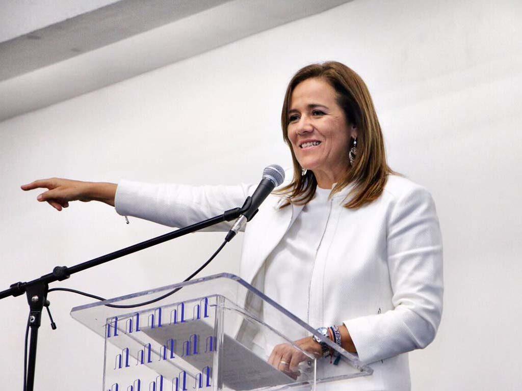 Margarita Zavala promete no condicionar recursos a estados