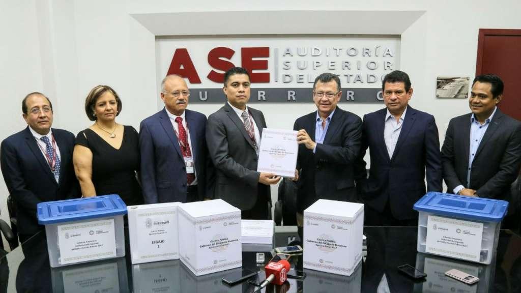 Guerrero entrega Cuenta Pública 2017 a ASF