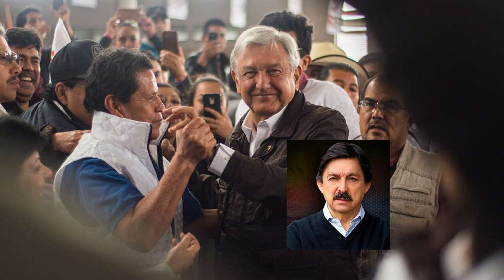 Andrés Manuel López Obrador aseguró en Zacatecas que su gobierno creará las condiciones necesarias para que el ex líder del Sindicato minero regrese del exilio