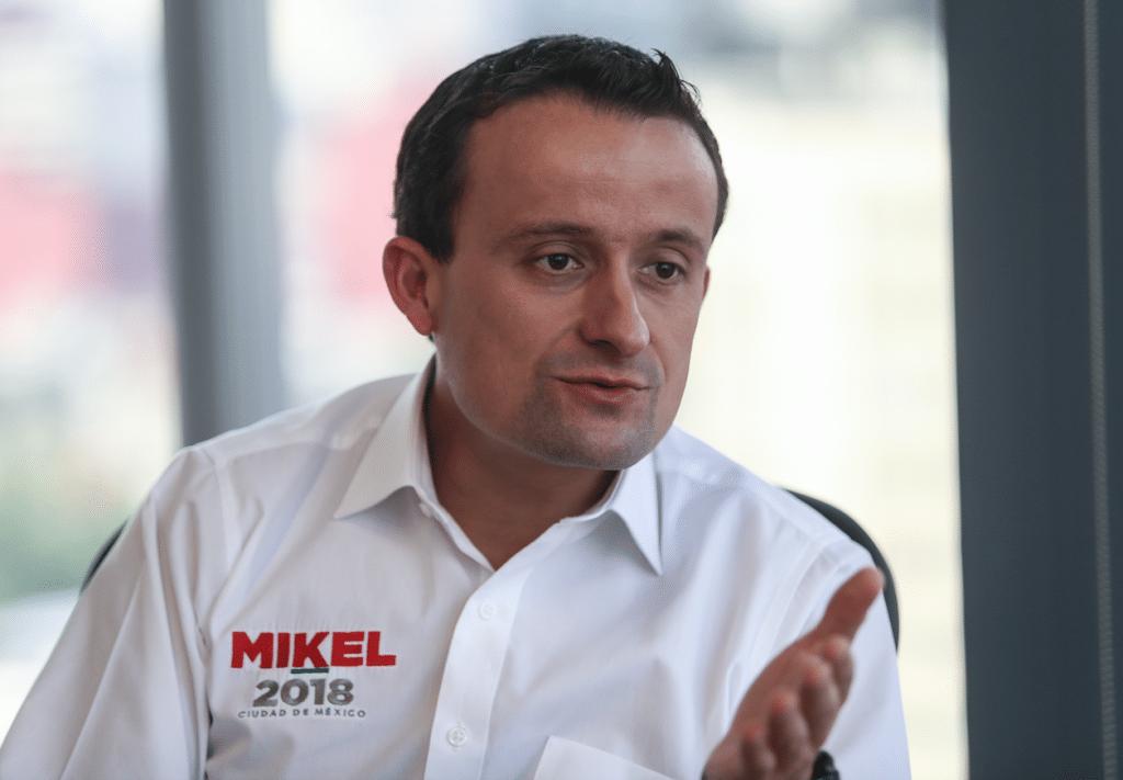 Plantea Mikel Arriola utilizar 190 mdp para mejorar el Metro
