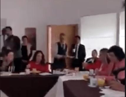 Diputados comían, mientras indígenas rarámuris solo miraban — INDIGNANTE