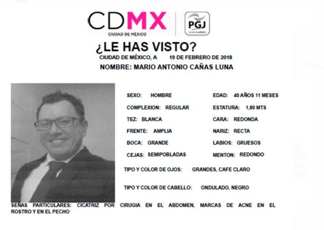 PGJCDMX realiza la búsqueda de un periodista