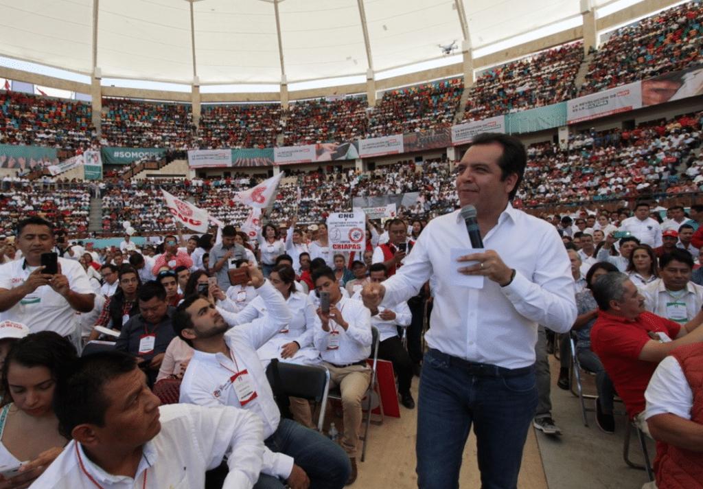 El PVEM y partidos locales rompen alianza con el PRI en Chiapas