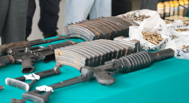 Lobby de las armas denuncia
