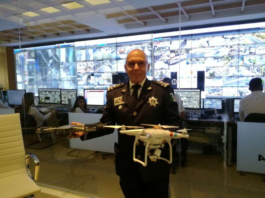 Atizapán inicia vigilancia aérea con drones