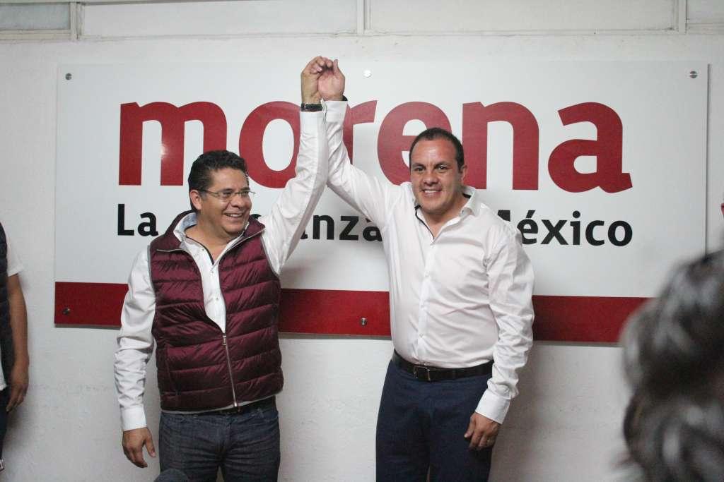 El Cuau se registró como precandidato al gobierno de Morelos