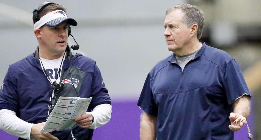 Josh McDaniels, coordinador ofensivo de los Patriotas de Nueva Inglaterra, fue nombrado nuevo entrenador en jefe de los Potros de Indianápolis
